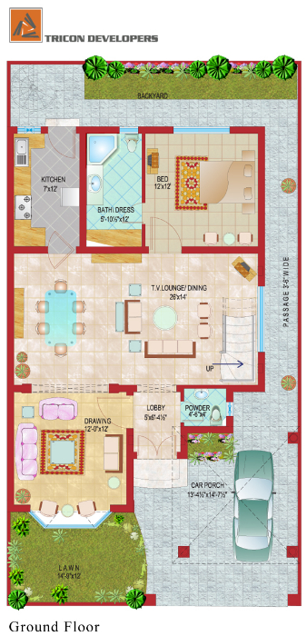 Floor Plan | Tricon Village